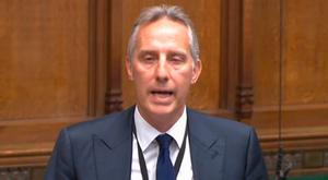 DUP MP Ian Paisley apologising to the House of Commons