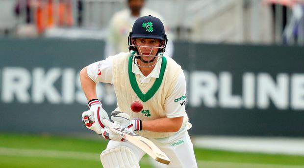 High point: William Porterfield is relishing Lord's
