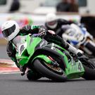 G-force: Gerard Kinghan is the series leader going into this weekend's Ulster Superbike round at Bishopscourt with trophies dedicated to the memory of racing brothers Neil and Donny Robinson
