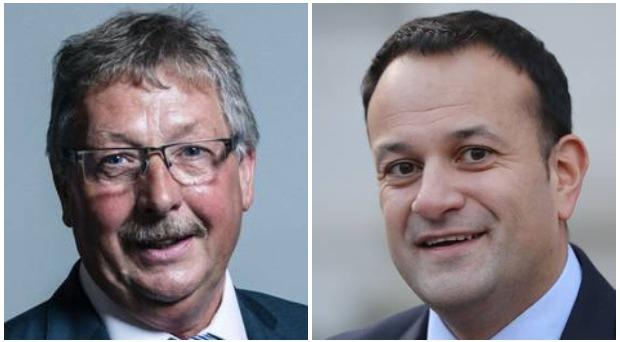 DUP MP Sammy Wilson hit back at claims from Taoiseach Leo Varadkar.