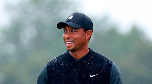 Confident: Tiger Woods is upbeat on Open hopes