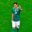 Strong words: Mesut Ozil pulled no punches as he quit Germany