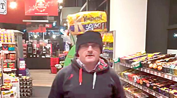 Barry McElduff in the controversial footage