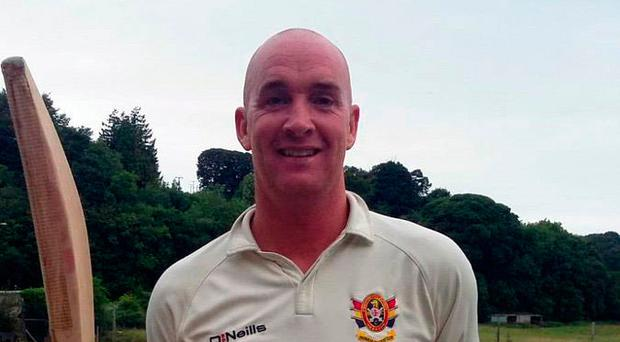 Career best: Gareth McKeegan scored 216 not out for Brigade