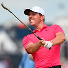 Positive outlook: Rory McIlroy believes he had a good week