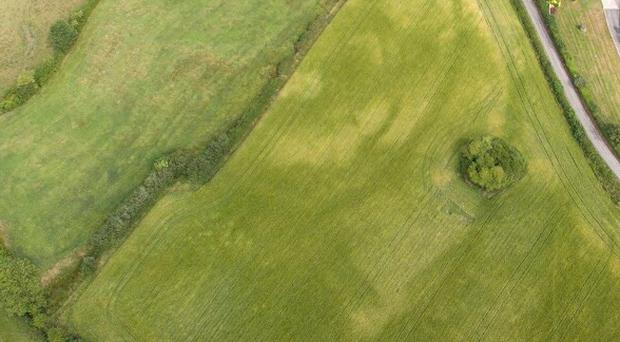 Aerial photos of the site / Credit: PAK Aerial Media/ Friends of Knock Iveagh