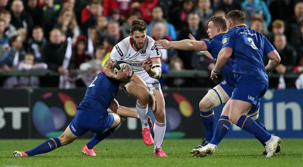 Ulster will travel to face Leinster on Saturday 5 January.