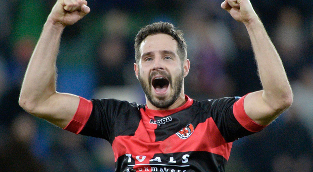 Thinking big: Sean Ward wants an Irish League side to mix it with Europe's elite