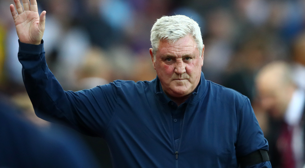 Uncertain future: Steve Bruce meets new Villa owners today