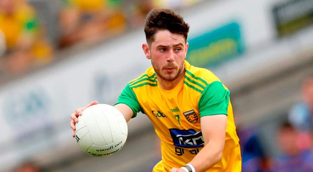 Key role: Ryan McHugh's skills as playmaker are serving Donegal well in their All-Ireland bid