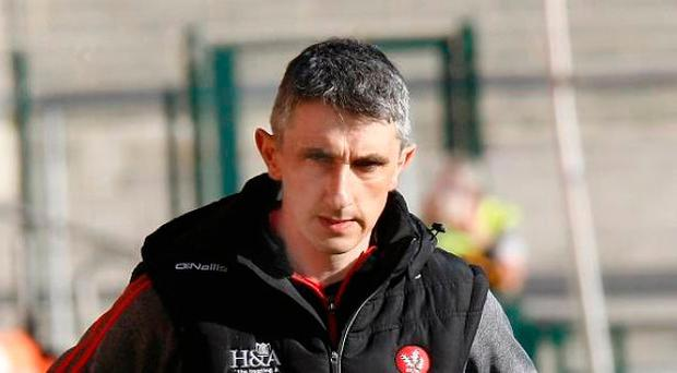 Big goal: Derry boss Paddy Campbell is in confident mood