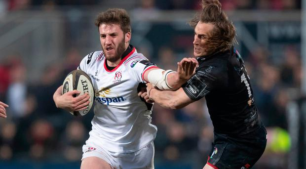 Been there: Stuart McCloskey is now one of Ulster's more experienced players