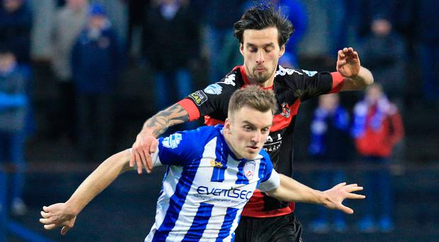 First up: Coleraine's trip to Crusaders will be live on Sky