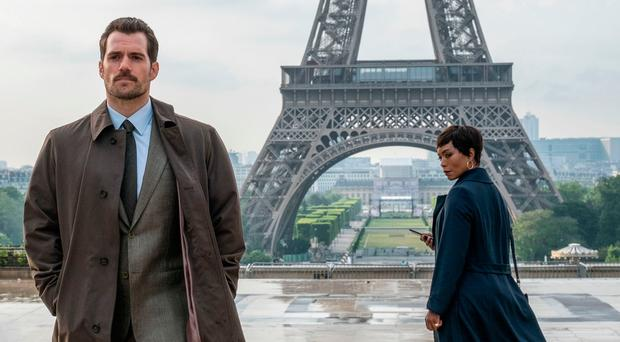 French connection: Henry Cavill and Angela Bassett in Mission: Impossible — Fallout