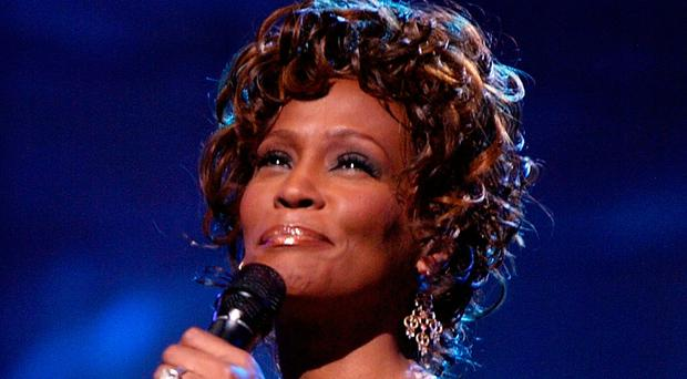Superstar singer: Whitney Houston