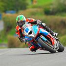 Out in front: Derek McGee heads to the Armoy Road Races on top form