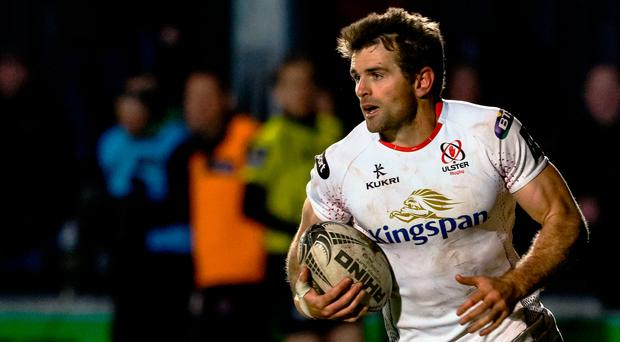 New role: Jared Payne has quickly adapted to his task of heading up the Ulster defence as a coach after being forced to retire from playing in May