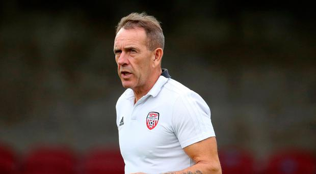 Target: City boss Kenny Shiels is chasing a European place