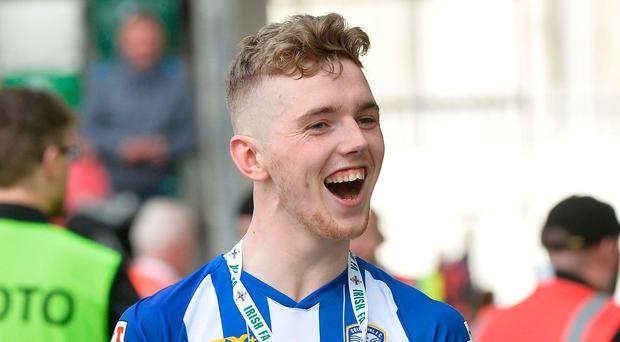 Wanted man: Jamie McGonigle has impressed for Coleraine