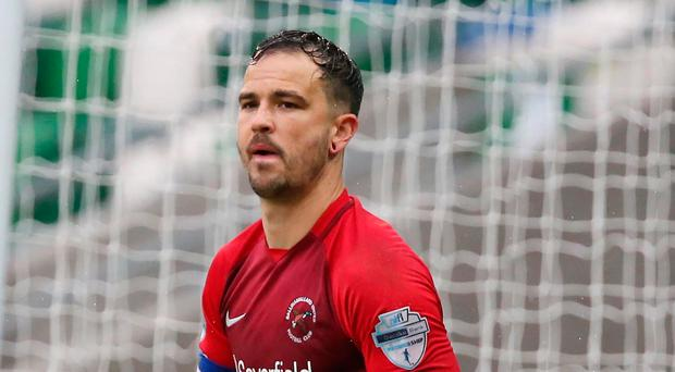 New mission: Richard Brush has joined Cliftonville
