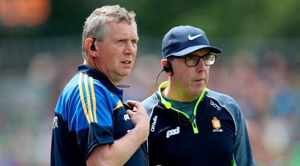 Massive test: Clare managers Donal Moloney (left) and Gerry O'Connor