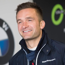Hard going: Colin Turkington was in the touring car wars