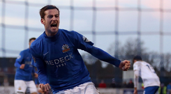 Special memories: Andy McGrory spent six years at Glenavon