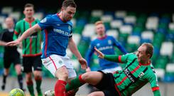 Will Linfield's Jamie Mulgrew or Glentoran's Ross Redman make it into your fantasy football team?