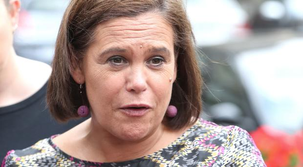 Sinn Fein president Mary Lou McDonald has called for a meeting with the Orange Order (Niall Carson/PA)