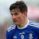 Golden chance: Darren Hughes knows a first All-Ireland semi-final since 1988 is within Monaghan's grasp