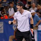 Roaring back: Andy Murray after yesterday's victory