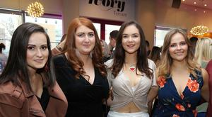 Pictured at the event are: Gintare Lenkeviciute, Lauren Killen, Cariece Carson, Emma Lavery and Caolan Taggart.