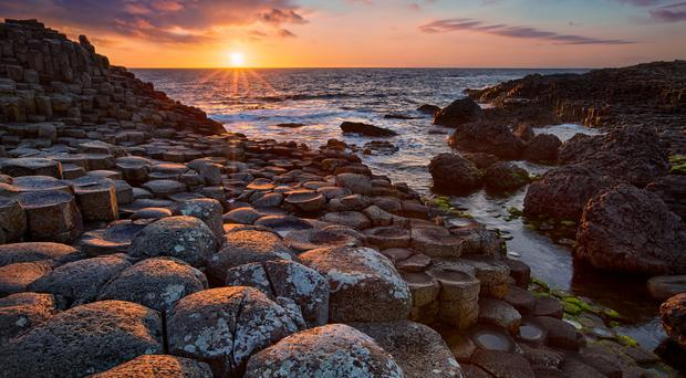 Rock star: the Giant's Causeway