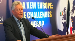 Peter Robinson's remarks at the MacGill Summer School did not please fellow unionists