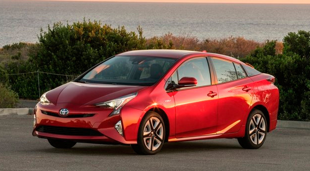 Vehicles like Toyota's Prius are enjoying a stronger share of the car sales market