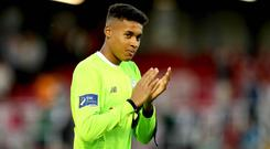 Shamrock Rovers' Gavin Bazunu could be on his way to London.