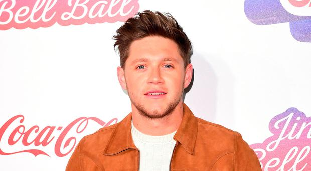 Delighted: Niall Horan