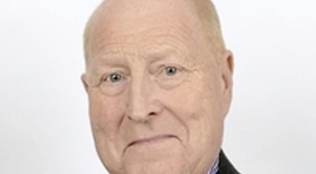 Councillor James Brown MBE has passed away. Credit: Mid and East Antrim Council.