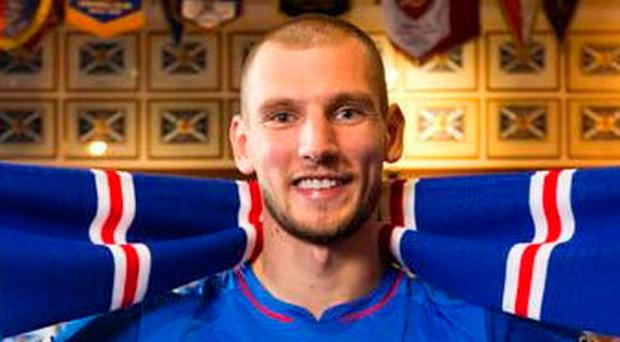 Quick return: Borna Barisic played against Gers last week