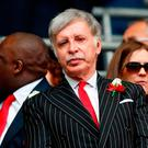 Huge buy-out: Stan Kroenke has had a £550m offer accepted by Arsenal's minority shareholder in his bid for a full takeover