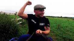 Carl Frampton sampled life as a jockey and even tasted victory in a donkey derby.