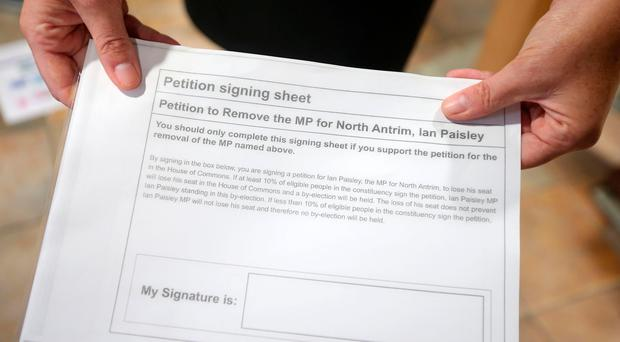 The Recall of MPs Act 2015 created a mechanism for the first time enabling constituents to force a by-election in cases of serious misconduct