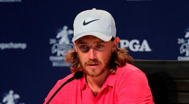 Viewpoint: Tommy Fleetwood at Bellerive yesterday