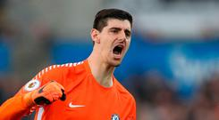 Fresh challenge: Thibaut Courtois is joining Real Madrid at last after failing to return for Chelsea training this week
