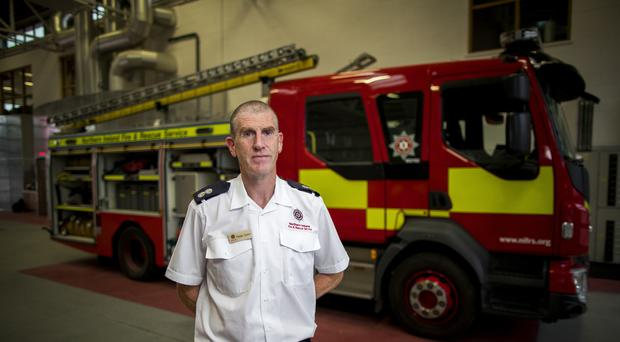 Northern Ireland Fire and Rescue's Paddy Quinn Paddy Quinn, who is the Watch Commander at Omagh station. At the time of the Omagh bombing he was a part time firefighter. PRESS ASSOCIATION Photo. Issue date: Thursday August 9, 2018. See PA story ULSTER Omagh Firefighter. Photo credit should read: Liam McBurney/PA Wire