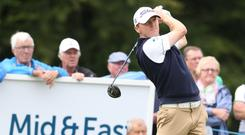 Michael Hoey is aiming for the top at the NI Open.