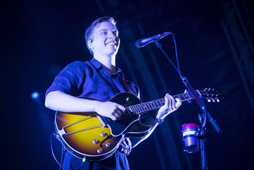 CHSq presents George Ezra performing at Custom House Square, Belfast. Friday 10th August 2018. Picture by Liam McBurney/RAZORPIX