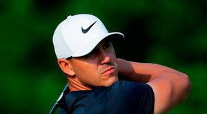 Going low: Brooks Koepka equalled lowest US PGA round