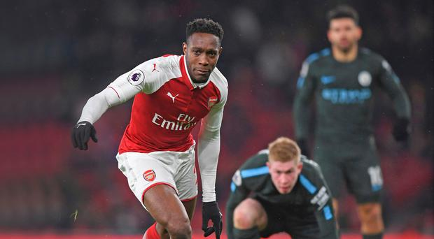 Staying put: Arsenal are keen to keep hold of Danny Welbeck