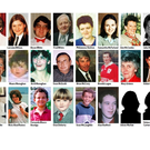 Omagh bombing victims.